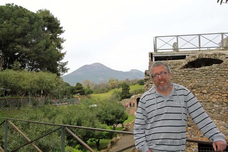 Pompeji, Rupert und der Vulkan Vesuv