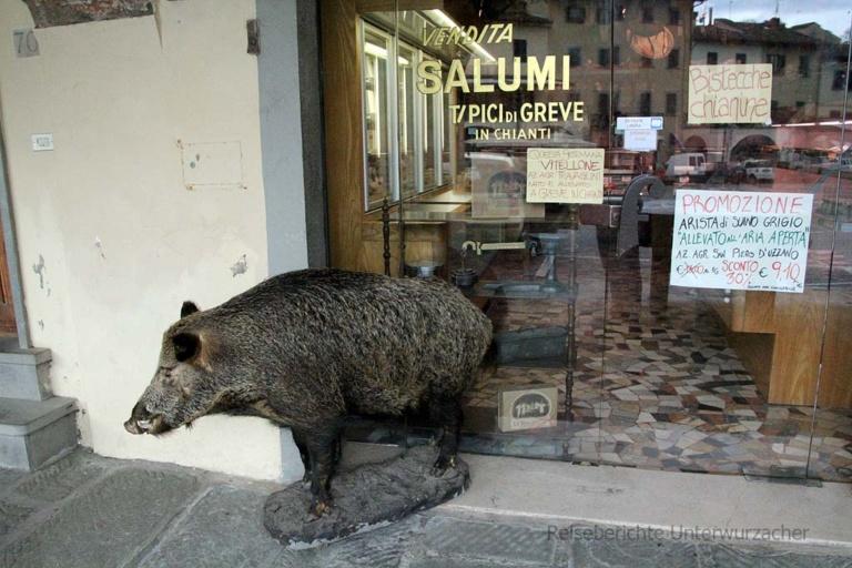 Bekannter Wurst-, Wein- und sonstiger Spezialitätenladen in Greve