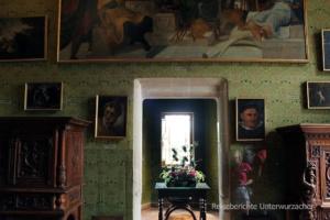 Das grüne Zimmer ....
