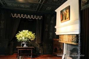 Das dunkle Schlafzimmer ...