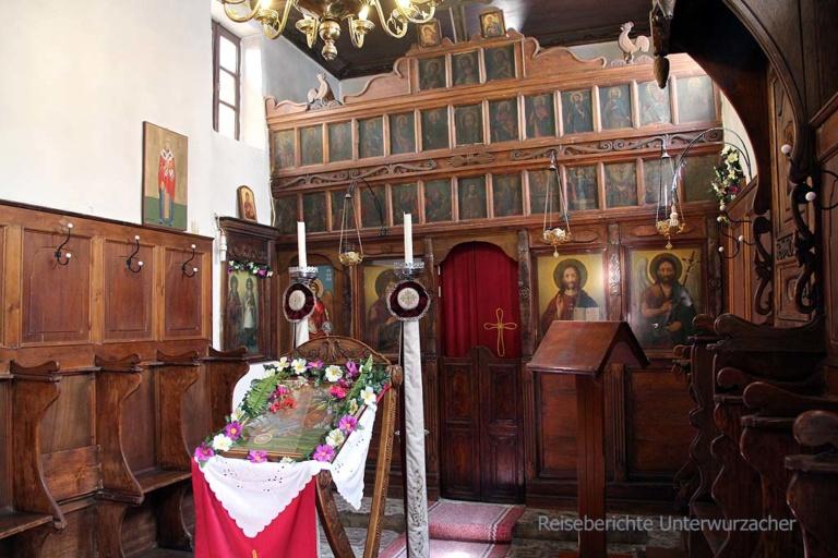 Kleine griechisch-orthodoxe Kapelle in Parga ...
