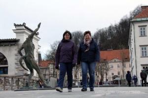 Stadtbesichtigung Laibach ...