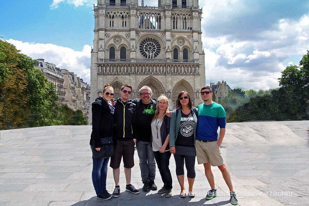 Paris und Normandie