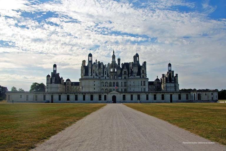 Zwischenstation auf der Heimreise: Chateau Chambord im Loiretal ...