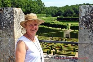 Sonja über den Gärten mit den Allegorien der zärtlichen Liebe, der leidenschaftlichen Liebe, der treulosen Liebe und der tragischen Liebe ...