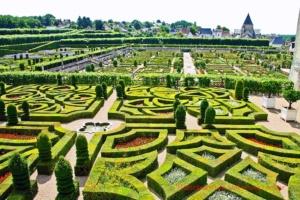 """Absolut sehenswert: Die Gärten von """"Chateau de Villandry"""" ..."""