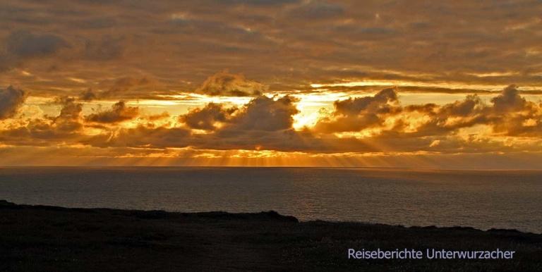... wir lieben Sonnenuntergänge ...