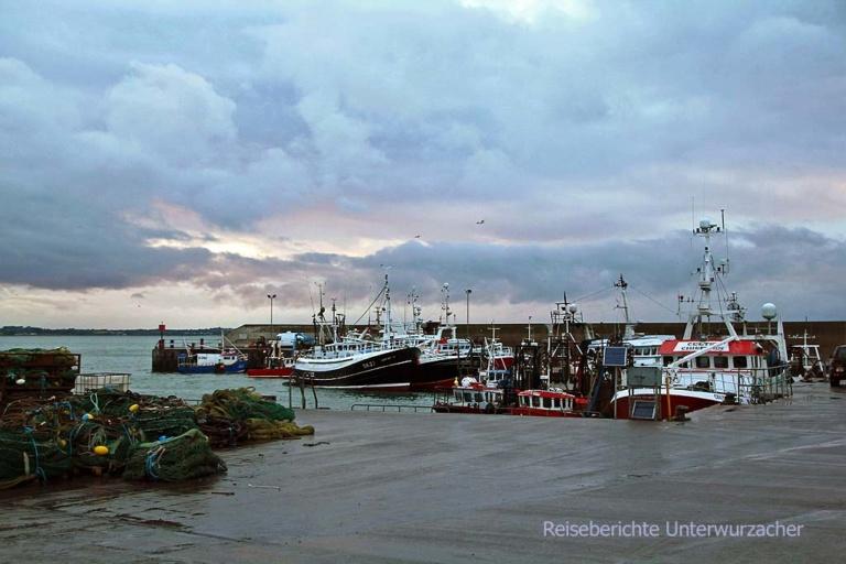 Ein herrlicher Abend in Port Oriel ...