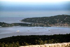 Herrlicher Ausblick auf die Cote d'Azur  ...
