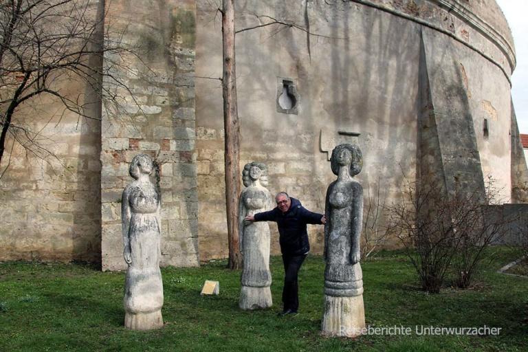 Kunstwerk: Rupert und die drei Frauen ...