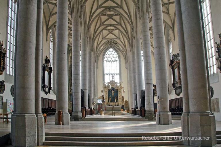 Evang. St.-Georgs-Kirche in Nördlingen ...