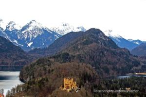 Schloss Hohenschwangau ...