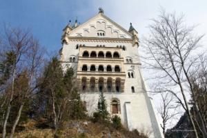 Abschied vom Schloss Neuschwanstein ...
