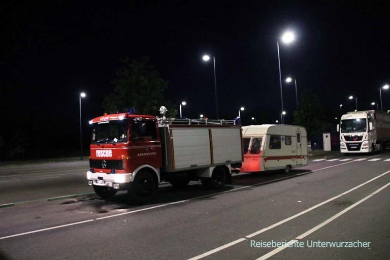 ... vielleicht waren die bei der Waldbrandbekämpfung in Schweden ... ;-))