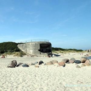 Bunker aus dem 2. Weltkrieg (Atlantikwall)