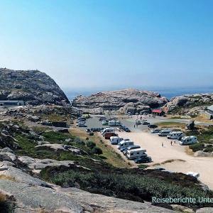 Kleine Wanderung am Südkap Norwegens ...