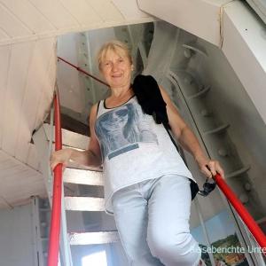Leuchtturm Lindesnes Fyr von innen ....
