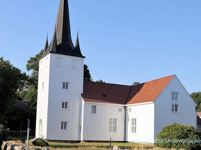 Ein der schönen, weißen Kirchen ....