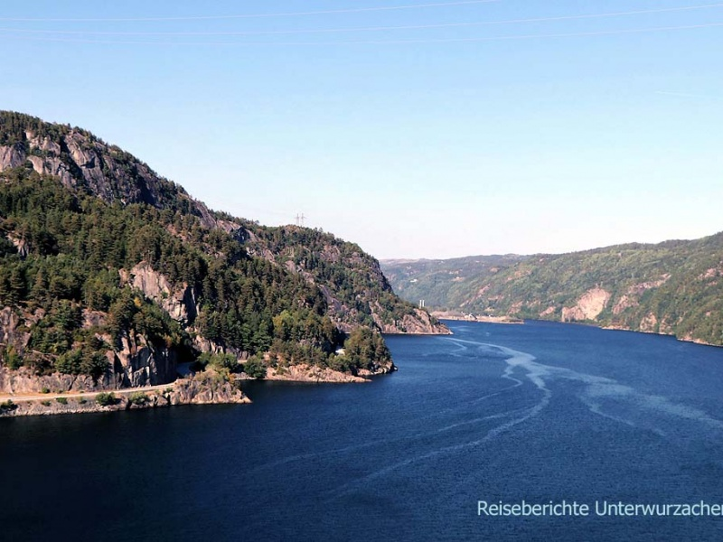 1. Tag in Norwegen: herrliches Wetter - herrliche Landschaften ...