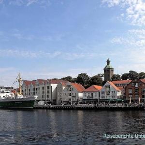 Der Hafen (Vågen) von Stavanger ...