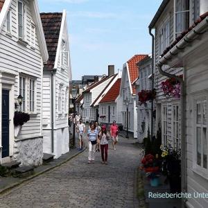Gamle Stavanger - das alte Stavanger ....