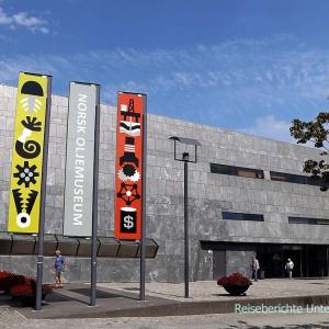 Das Norwegische Ölmuseum in Stavanger ...