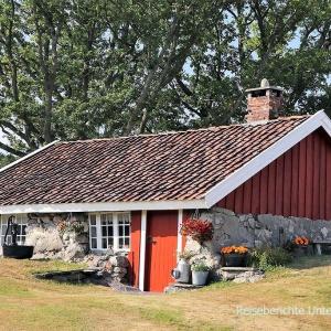 ... typisch norwegisches Haus ...