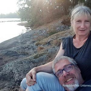 Wir genießen die Stille und den See - Issalvatnet ...