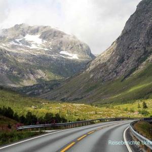 Auch am 10. Tag unserer Norwegenreise 2018 begleiten uns wunderbare Landschaften ...