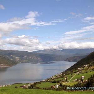Herrlicher Ausblick auf den Innvikfjorden ...