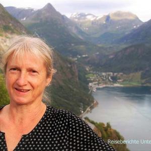 Abendsonne, Sonja, Geirangerfjord ...