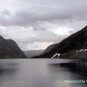 Beeindruckende Seen entlang der Adlerstraße ...