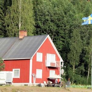 Wir sind in Schweden - bis auf die Fahne hat sich nicht viel geändert ...