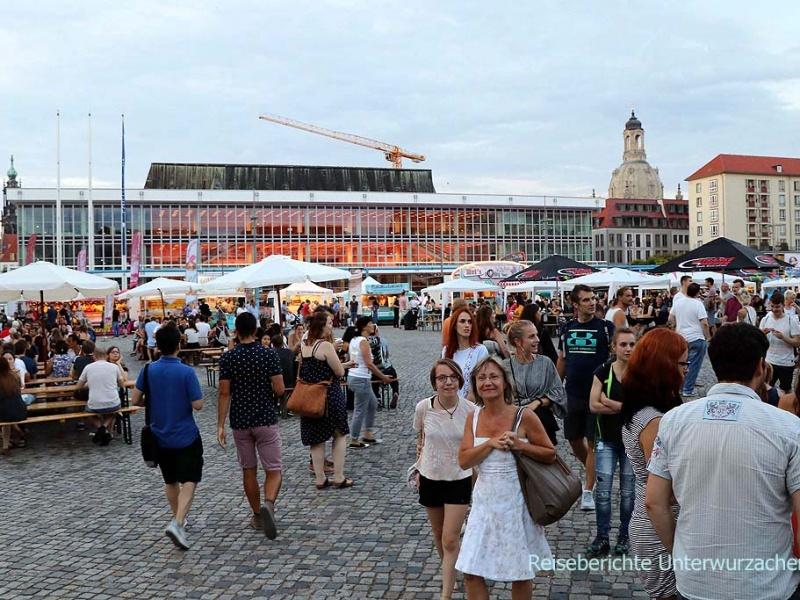 Street Foot Festival in Dresden