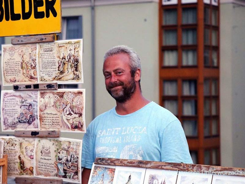Netter Verkäufer von Berufsbildern in Dresden ...