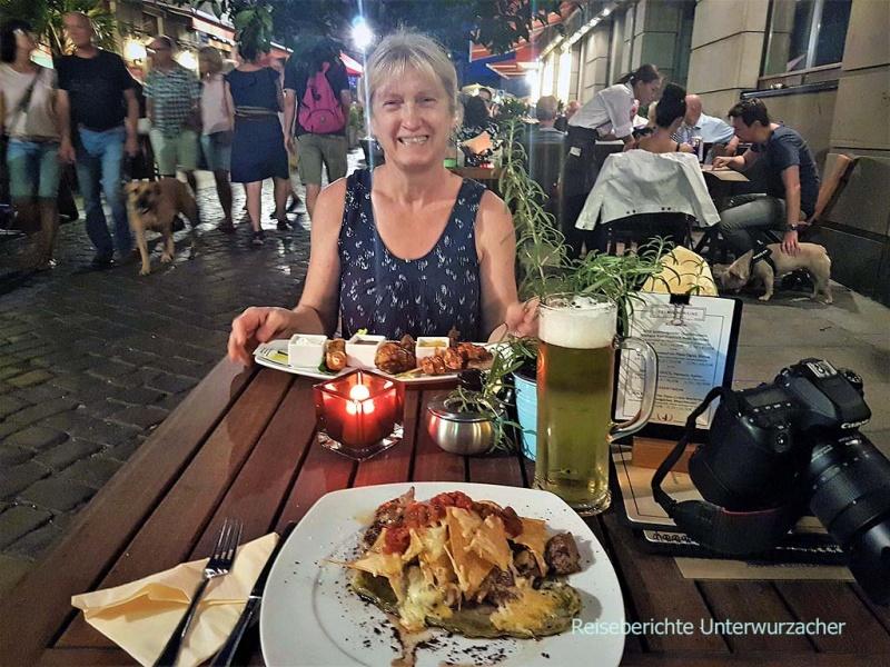 Abendessen im Steakhouse in Dresden ...
