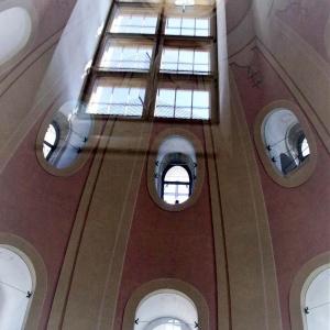 Innenbesichtigung der Frauenkirche ...