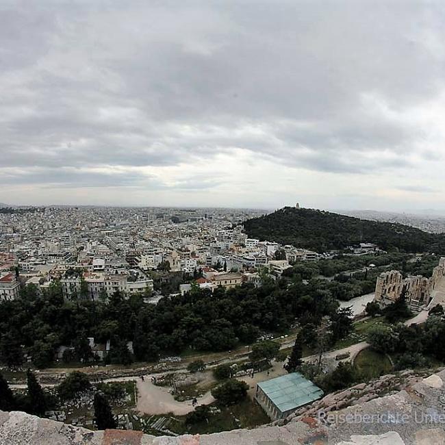 Athen von oben ...
