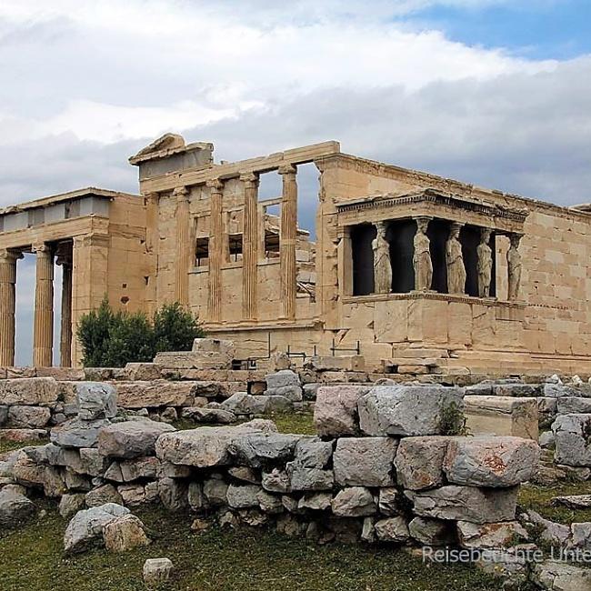 Tempel Erechtheion (420 bis 406 v. Chr.)