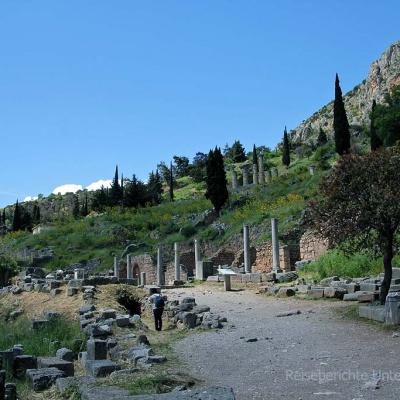 Besuch beim Orakel von Delphi ...