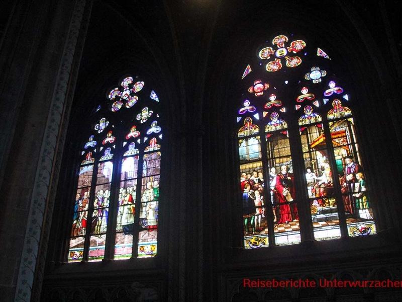 Die Fenster erzählen Geschichten ...