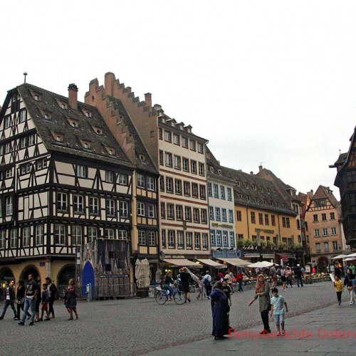Straßburg ist nicht nur Sitz des Europarlaments sondern eine wirklich sehenswerte Stadt ...