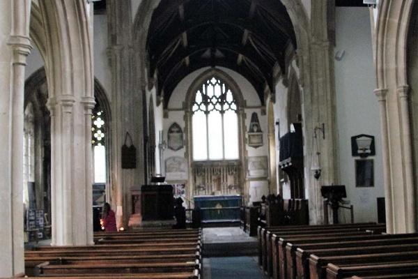 Kirche von Lacock ...