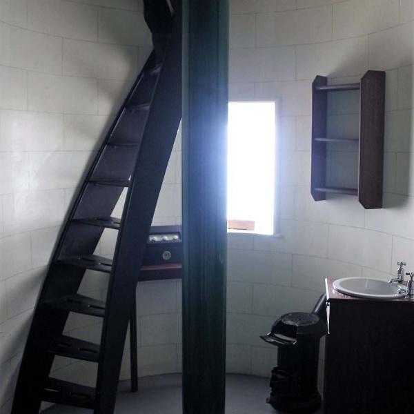... auch den Leuchtturm kann man besichtigen ...