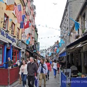Galway - buntes Treiben in der Universitätsstadt ...