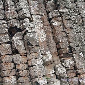 Basaltsäulen ...