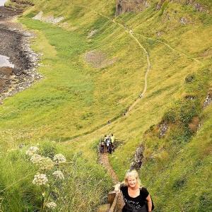 Über Shepherd's Step geht es über 167 Stufen zurück zum Besucher-Zentrum ...