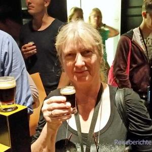 Großes Guinness für den Papa - kleines Guinness für die Mama ...