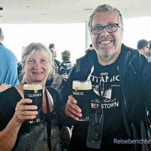 ... obligatorisches Gruppenfoto: Sonja, Rupert und Guinness ...