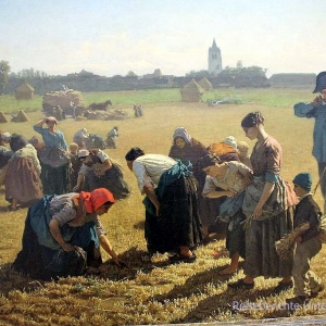 Jules Breton - The Gleaners ...
